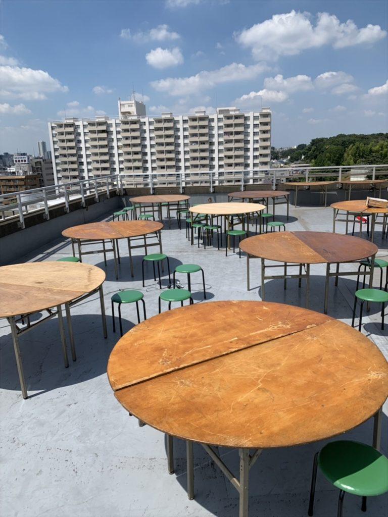 東京、神奈川、千葉で丸イスレンタルならイベント21へ